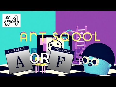 SQOOL IS STARTING TO GET REALLY HARD! (ART SQOOL EP 4)
