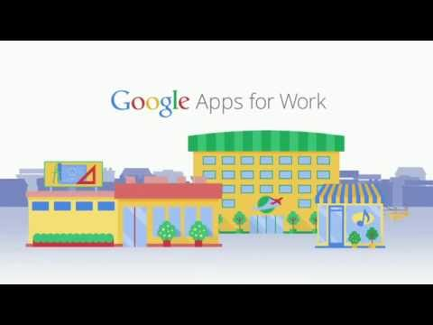Vidéo Google Apps for Work (fr)