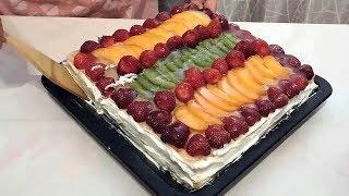 Нежный пирог за 10 минут!-Очень вкусный!