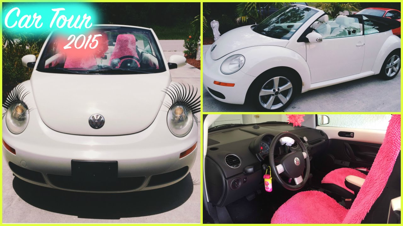 Car Tour 2015 | VW Beetle Convertible (Triple White) - YouTube