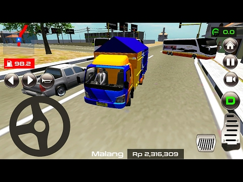 IDBS Indonesia Truck Simulator - Android Gameplay HD