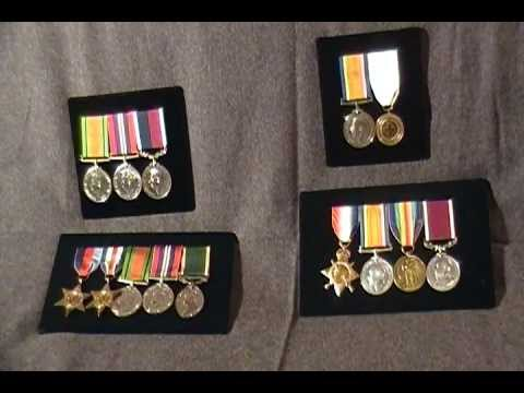 WW1 WW2 British military Campaign Medal collection Militaria Medals Long  Service RAF Army