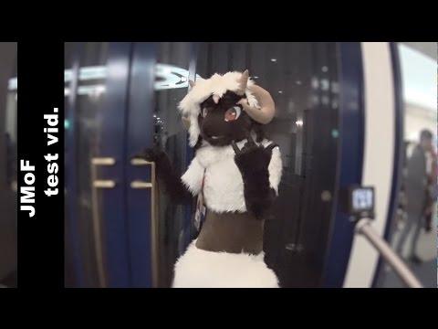[ fursuit ケモノ着ぐるみ ] JMoF 2015 test video