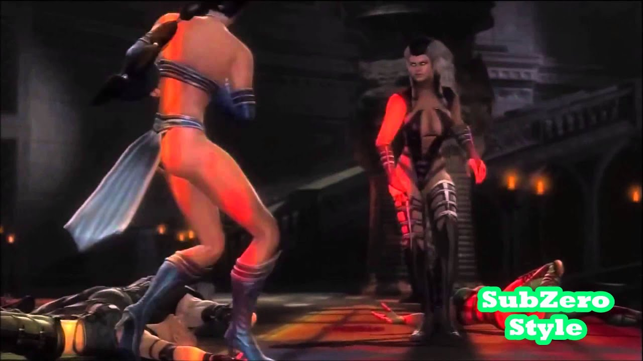 Mortal Kombat 9   X Ray   Sindel [1080p HD] - YouTube