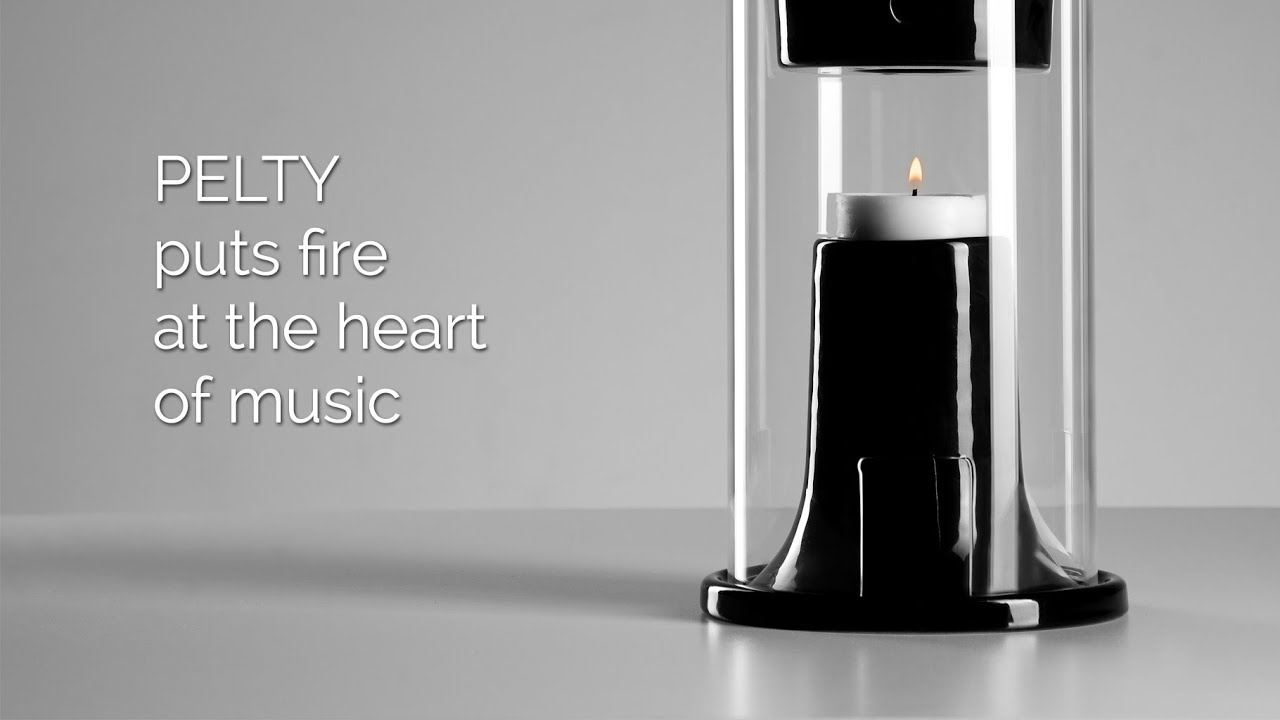 Pelty Fire-Powered Speaker