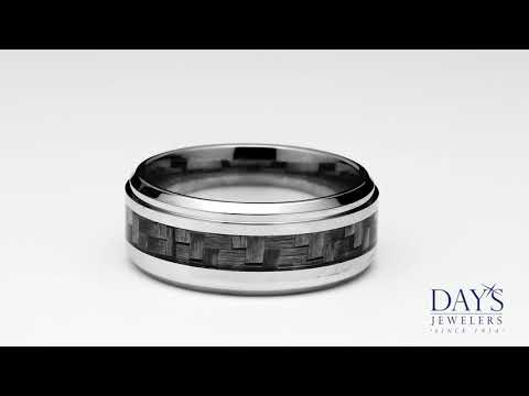 Benchmark Cobalt Chrome Wedding Band (9mm)