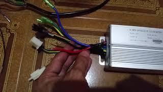 Inversor controlador da bike elétrica