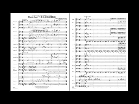 Music from The Incredibles by Michael Giacchino/arr. Bocook