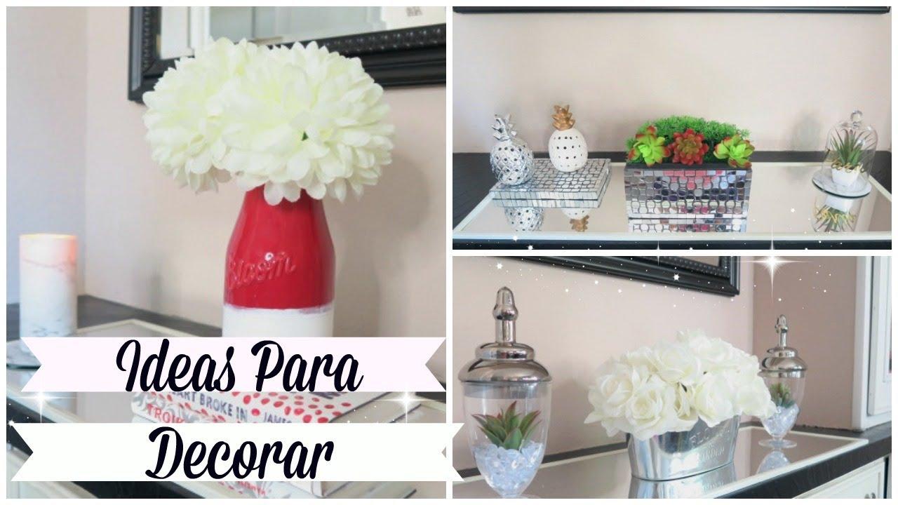 Ideas para decorar sin gastar mucho dinero usando lo que for Ideas para decorar la casa sin gastar mucho