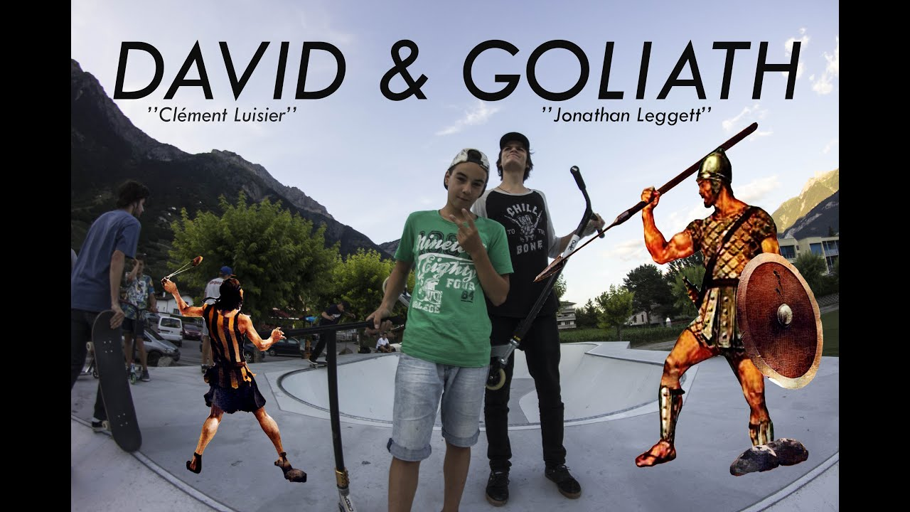 "Jonathan Leggett & Clément Luisier ( DAVID AND GOLIATH ) : ""One Day Edit"""
