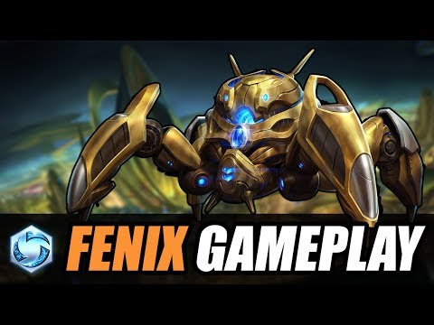 FENIX gameplay // Heroes of the Storm PTR