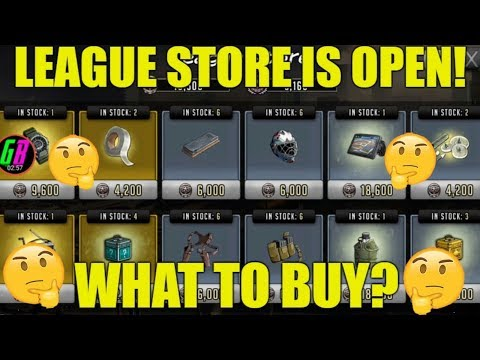 LEAGUE STORE IS OPEN! 🤔WHAT TO BUY?🤔 - Walking Dead Road to Survival