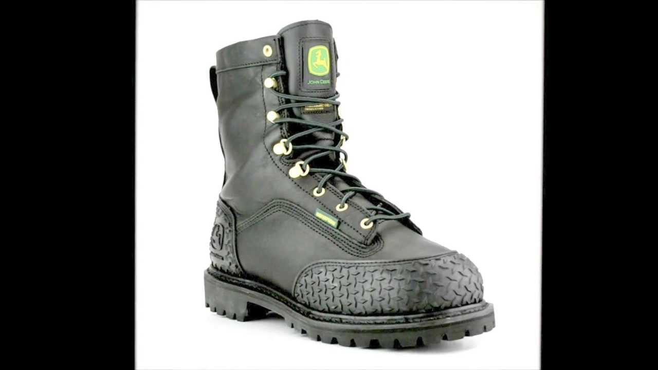 Men's John Deere JD9350 Steel Toe Metguard Miner Work Boot @ Steel ...