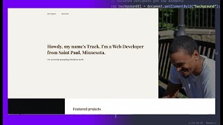 2 Software Developer / Web Developer Portfolios Review