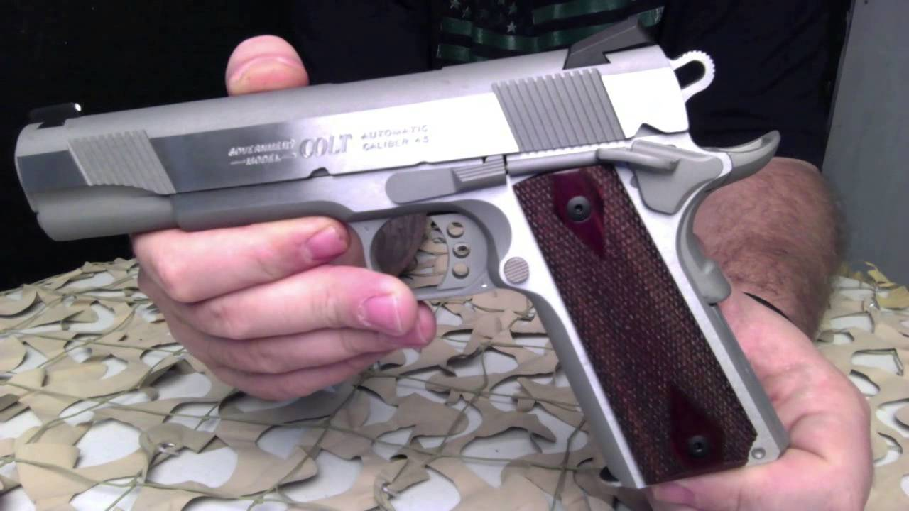 Colt 1911 XSE Stainless Steel 45ACP 5