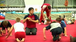 Vispārattīstošā vingrošana 10-14 gadus veciem bērniem. Treneris Igors Vihrovs