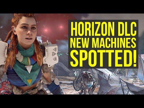 Horizon Zero Dawn Frozen Wilds - HUGE NEW MACHINE & CAMEL MOUNT LEAKED?! (Horizon Zero Dawn DLC)