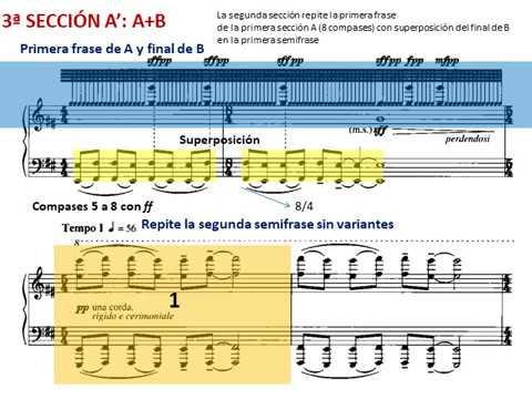 Musica ricercata de G. Ligeti. II - Mesto, rigido e cerimoniale. Análisis musical