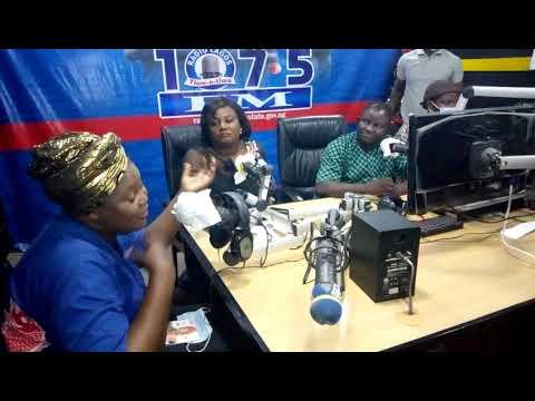 Bose Adekunle at Ojutaye program on Radio Lagos