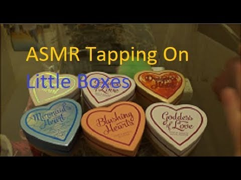 📦ASMR Tapping On Small Boxes 🎁