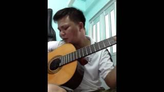 """Dấu Tình Sầu """"Ngô Thuỵ Miên"""" guitar Ninh Nguyễn"""