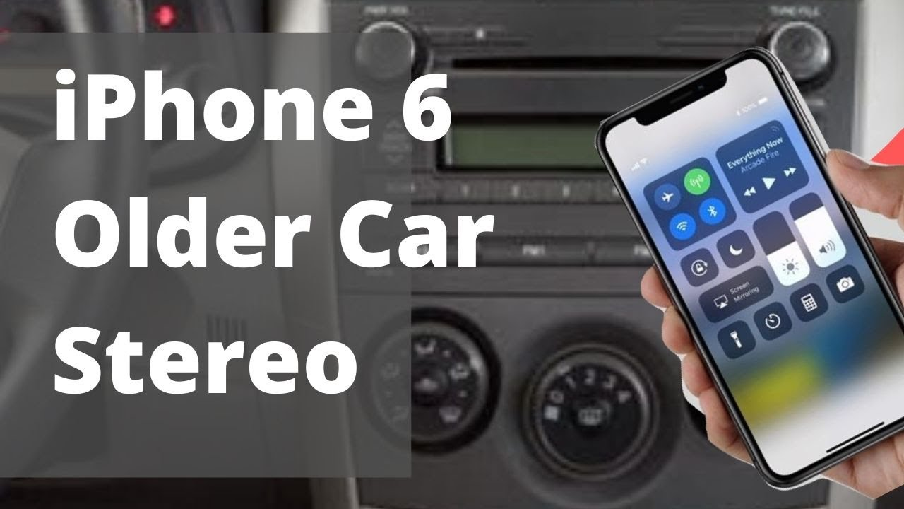 connect iphone to car connect iphone 6 to car factory radio w o aux 5395
