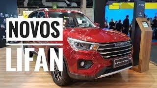 Estas foram as novidades da Lifan no Salão do Automóvel 2018