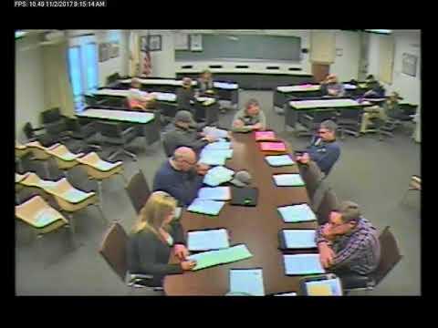 11-2-2017 Policy & Procedure Committee Meeting