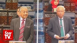 Dr M's response to Ismail on ECRL cost draws laughter in Dewan Rakyat