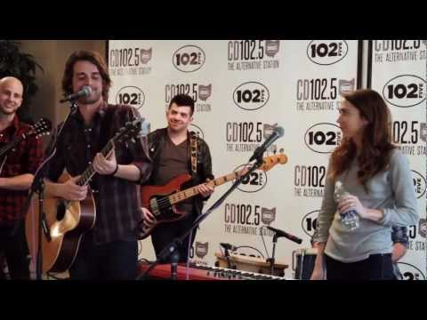 Churchill Live Music & Interview: In the CD102.5 Big Room with Express Rocks