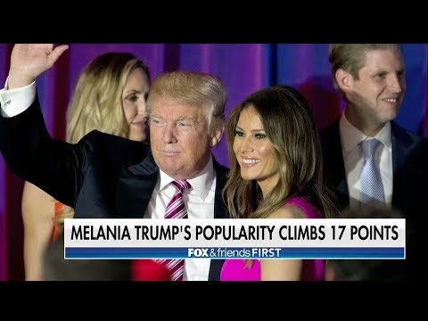 Melania Trump's Popularity Soars, Majority Now View Her Favorably, Poll Shows