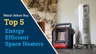 5 most Energy efficient space heaters   Low Cost Energy Efficient Heaters