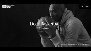 Kobe Bryant Announces That He Will Retire from the NBA at the end of the 2015-2016 Season.