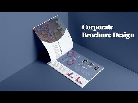 Company Brochure Design   Photoshop CC Tutorial.