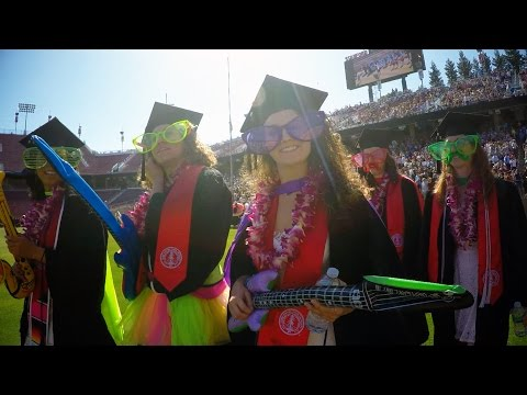Stanford Commencement Wacky Walk 2016