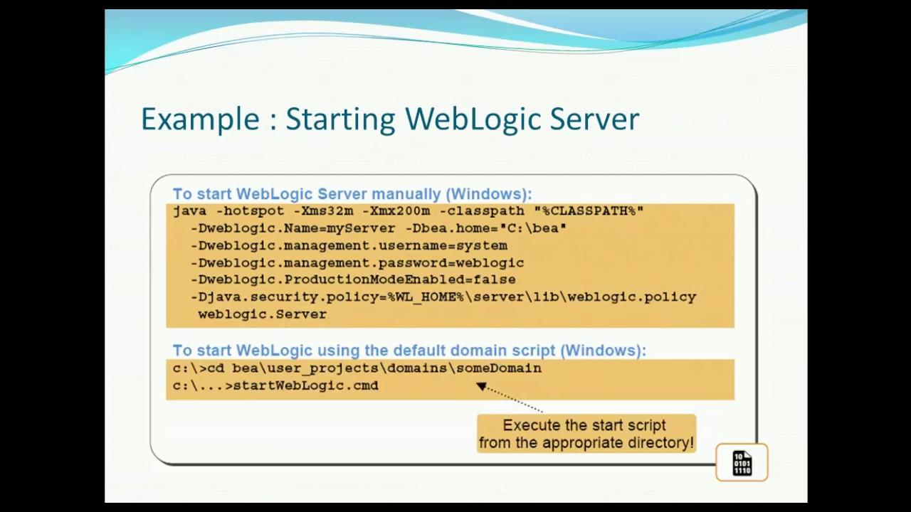 Weblogic server in eclipse ide for java ee developers   oracle the.