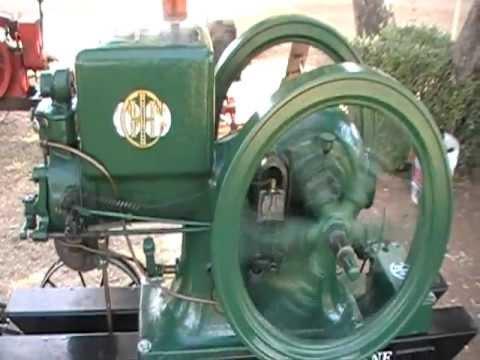 1924 International Harvester Model M Kerosene Engine At Glendale, AZ 21112  YouTube