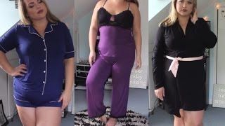 Try On Haul: Cute Plus Size Pajamas!