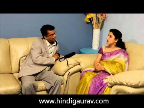 Hindi Gaurav Interviewed Mrs India Australia Contestant Mrs Garima Singh