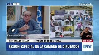 02-09-2020 - Diputado Carlos Heller - Intervención en Sesión Especial
