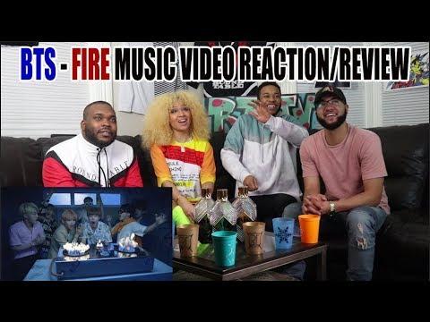 FIRST EVER BTS(방탄소년단) FIRE (불타오르네) MUSIC VIDEO