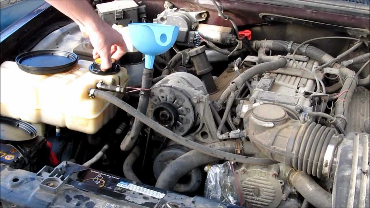 small resolution of heater core flushing 1994 chevy caprice lt1 l99 diy wagon 350 v8 youtube