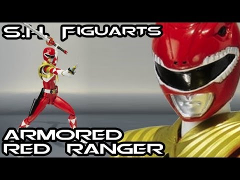 S.H. Figuarts ARMORED RED RANGER Figure Review