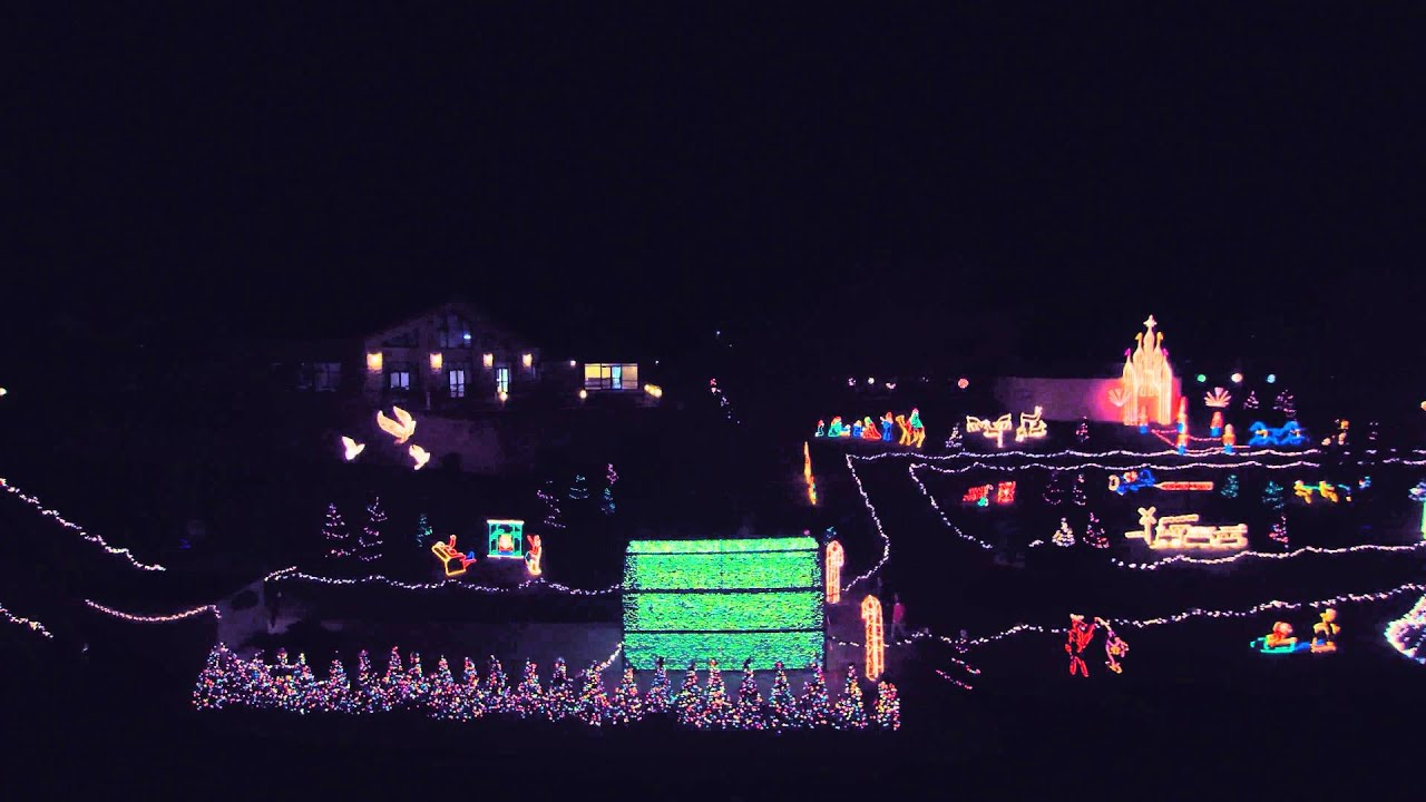Marble Falls Walkway of Lights - YouTube
