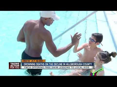 Tampa YMCA offering free swim lessons during spring break