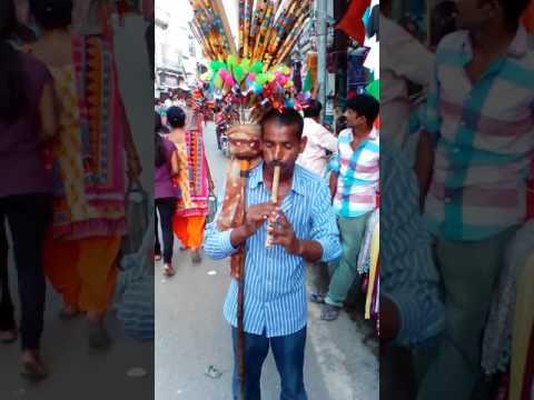 Flute artist .. varanasi Assi ghat