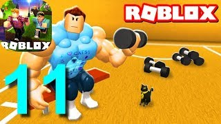 ROBLOX MUSCLE SIMULATOR Gameplay Walkthrough Part 11 / Android iOS