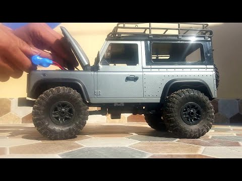 1:12 Scale Landrover Defender RC Car Offroad Testing