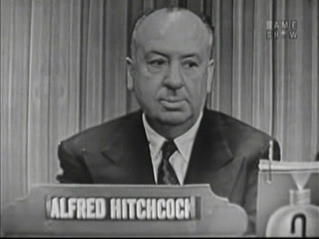 Fabulous Friday: Mystery Guest, Alfred Hitchcock