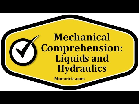 Liquids and Hydraulics - Mechanical Comprehension